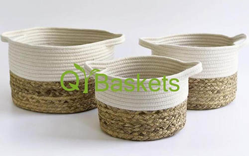 storage basket,cotton rope basket,gift basket,laundry basket