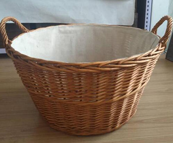 wicker basket,firewood basket,storage basket,XL