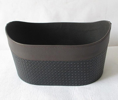 storage basket,gift basket,made of faux leather