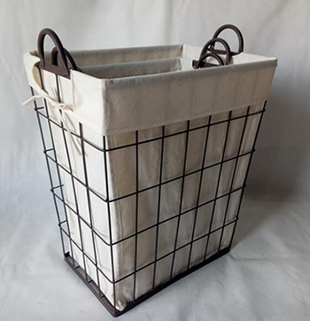 wired laundry basket,storage basket,S/3
