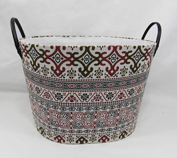 Laundry basket,canvas basket,storage basket