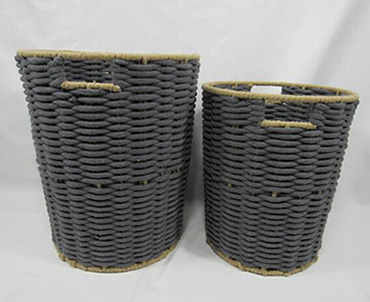 laundry basket,cotton rope basket,storage basket