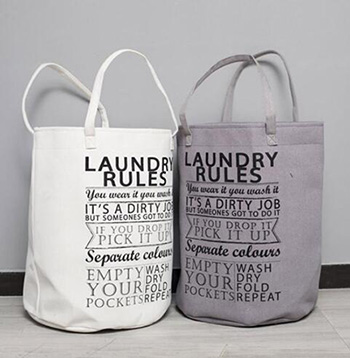 Laundry basket,canvas basket