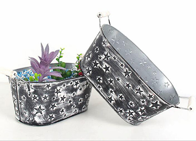 flower pot,garden pot,metal pot
